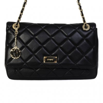 Lyxig skinnväska från DKNY