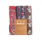 Barbour, HANDKERCHIEFS GIFT BOX
