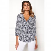 "Chiara Forthi, ""Francesca Wrap Top"""